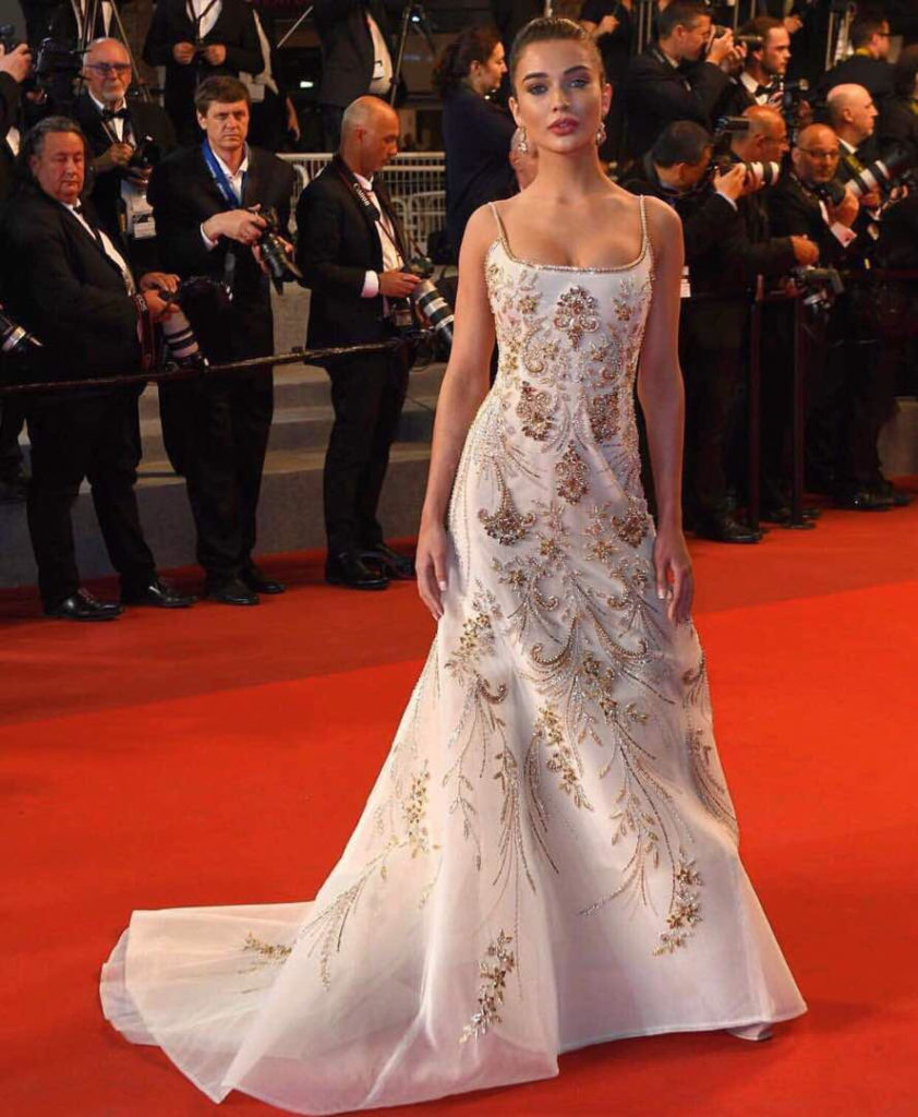 Amy Jackson,debut,Cannes