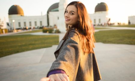 Evelyn Sharma,Griffith observatory ,LA