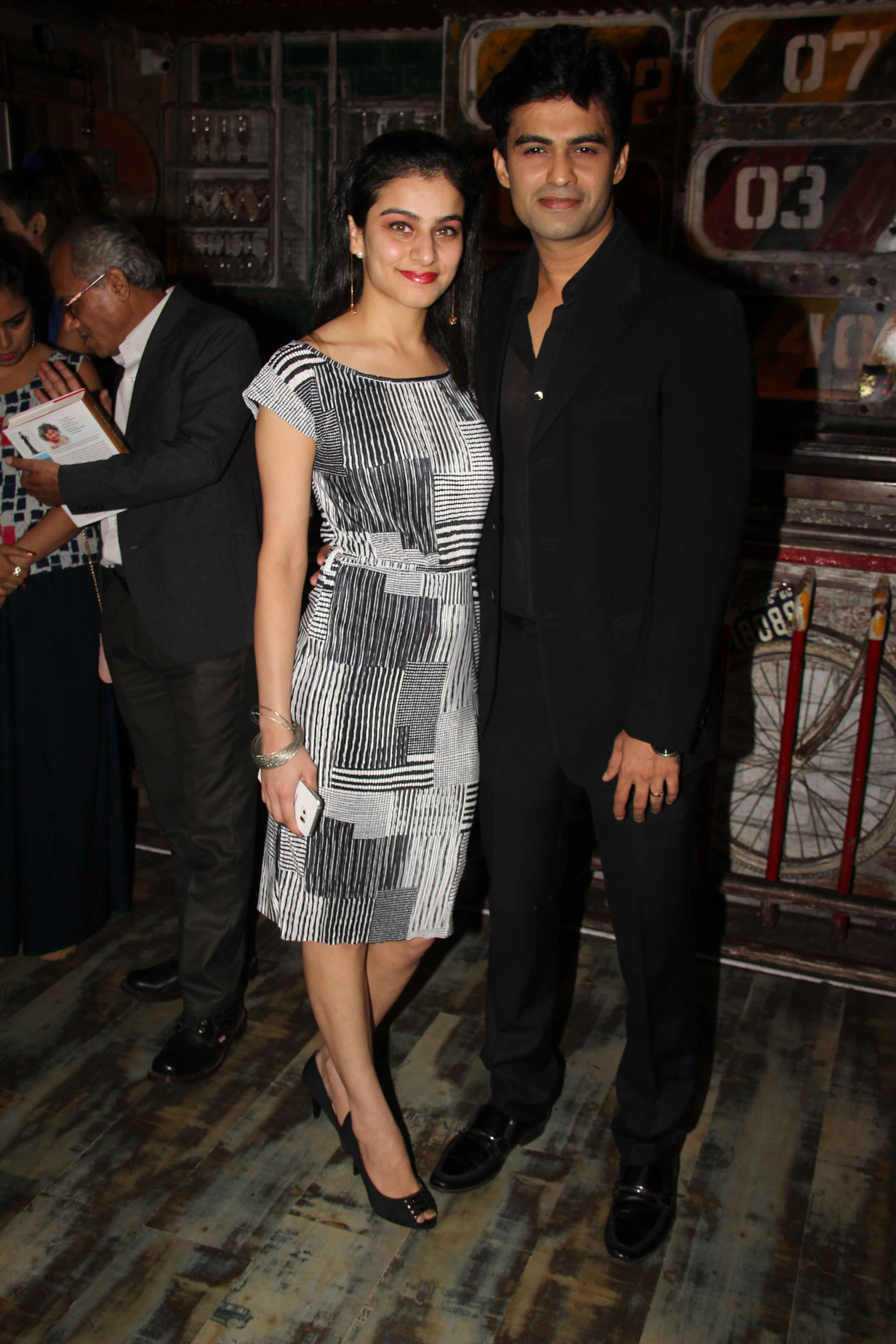 Amit Dolawat with Wife