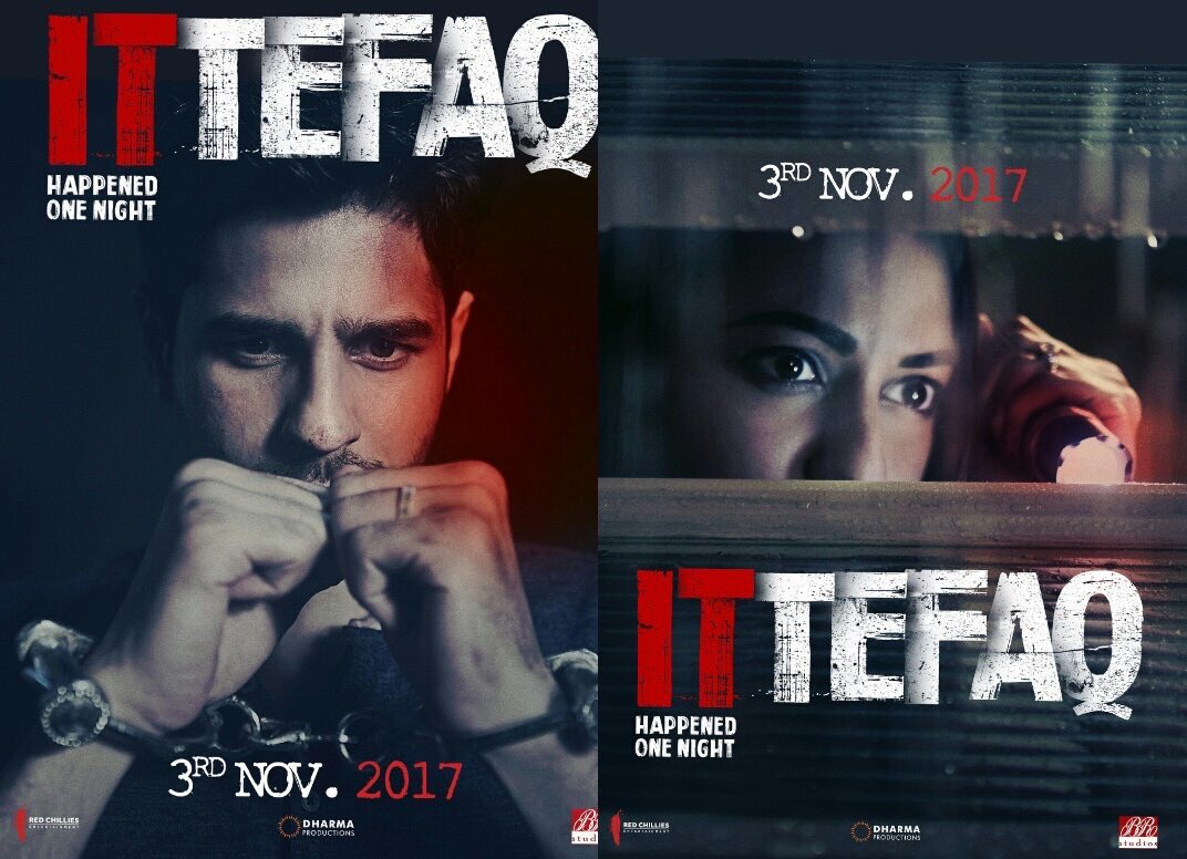 Ittefaq, Sonakshi Sinha, Ittefaq, Siddharth malhotra,Karan Johar, Red chillies entertainment, Shah Rukh Khan