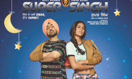Super Singh,Diljit Dosanjh,box office,Sonam Bajwa,Balaji Motion Pictures