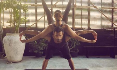 Bipasha Basu, Karan Singh Grover, International Yoga Day, photo shoot, viral