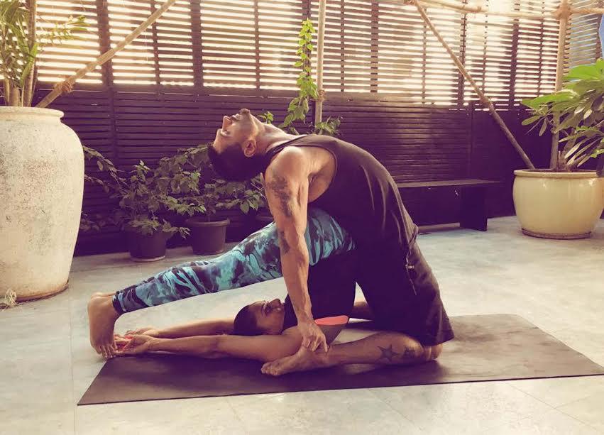 Bipasha Basu, Karan Singh Grover, International Yoga Day, photo shoot, viral