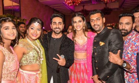 Ayushmann Khuranna, Kriti Sanon, gate crashed, engagement party, Bareilly Ki barfi
