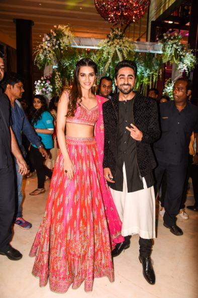 Ayushmann Khuranna, Kriti Sanon, gate crashed, engagement party, Bareilly Ki barfi