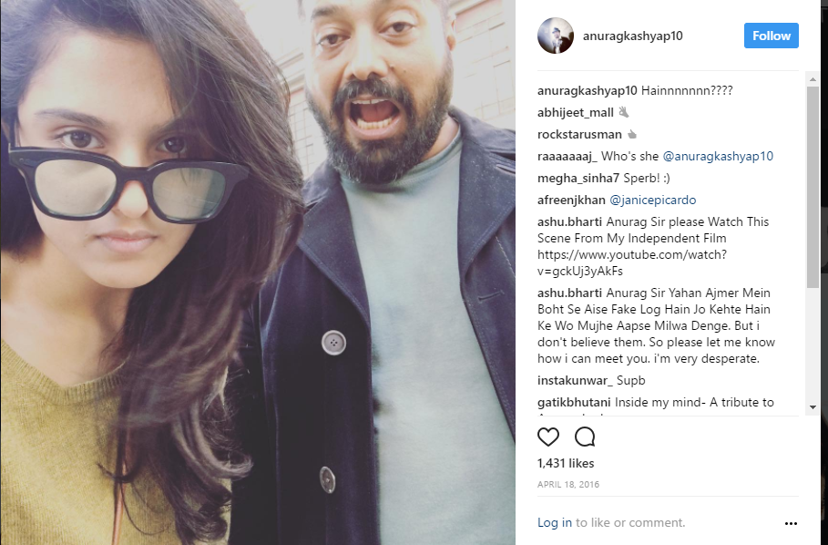 Anurag Kashyap, Shubhra, Pictures