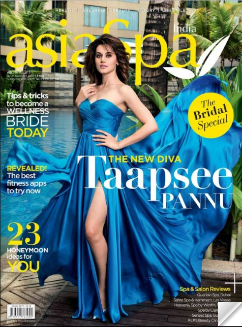 Taapsee Pannu, AsiaSpa,Pernia Qureshi, digital magazine