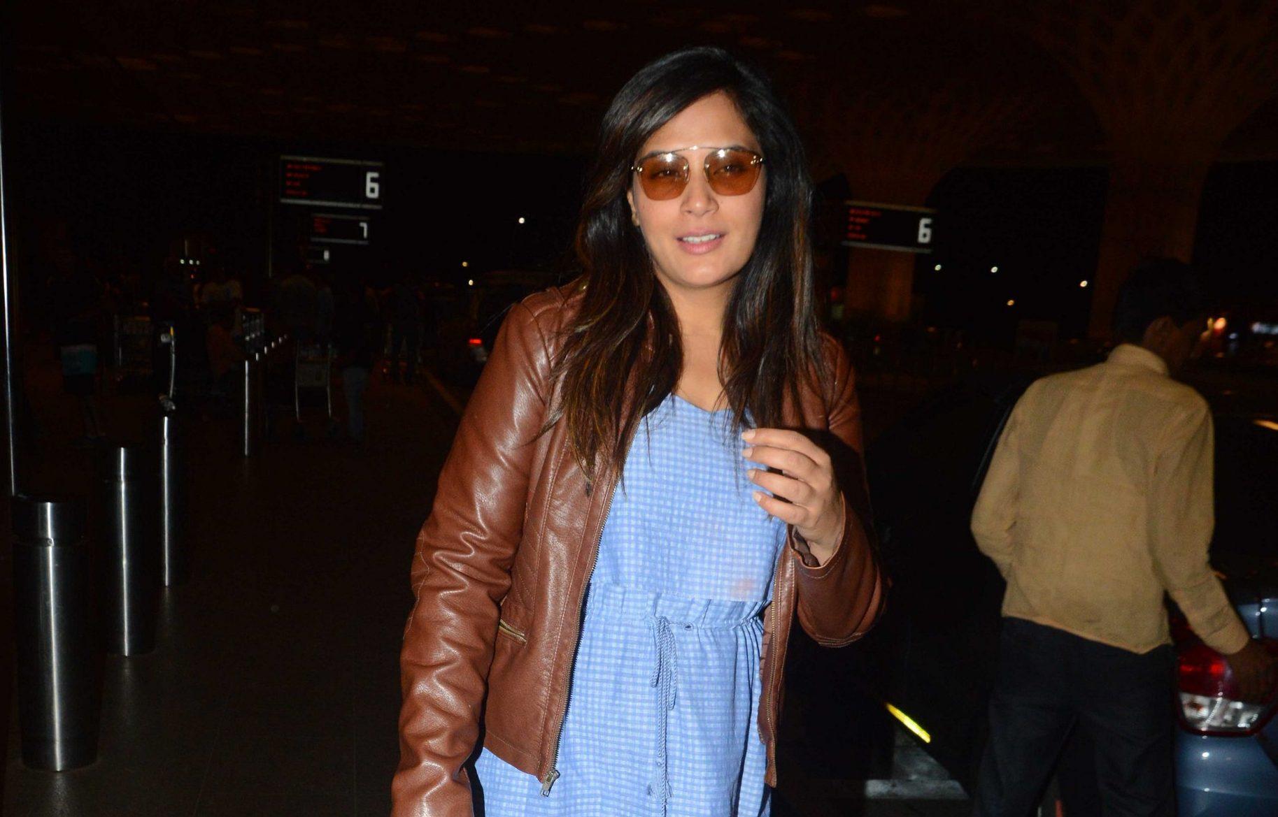 Actress, Richa Chaddha, Designer, Rinku Sobti, Airport
