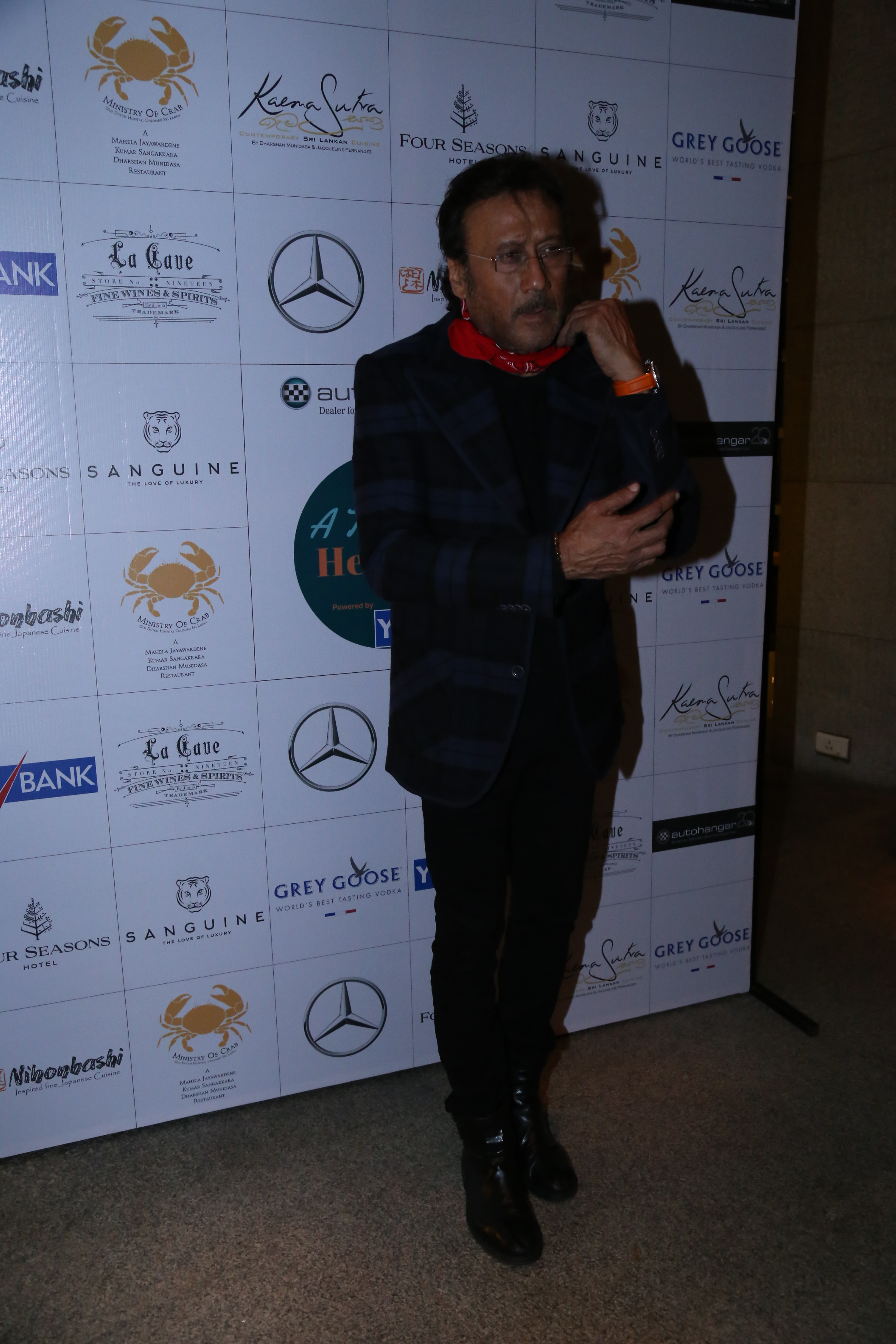 Jackie Shroff at the dinner of A Taste of Heaven at Four seasons