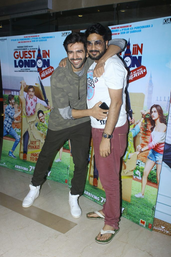 Kartik Aaryan and Milap Zaveri