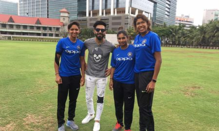 Aparshakti Khurana, special show, Indian Women Cricket team
