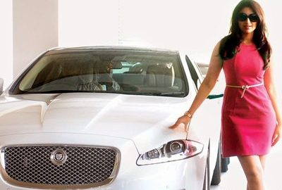 Parineeti Chopra - Jaguar XLJ