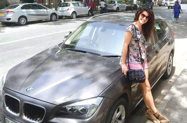 Taapsee Pannu BMW X1
