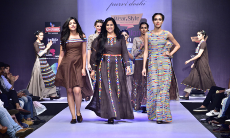 Beauty and Beads, Purvi Doshi, Bangalore Fashion Week W|F 2017