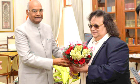 Bappi Lahiri, Bharat Ratna Dr. Ambedkar Award, National Awards, President of India, Shri Ram Nath Kovind