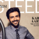 India, Maxim cover,Kartik Aaryan