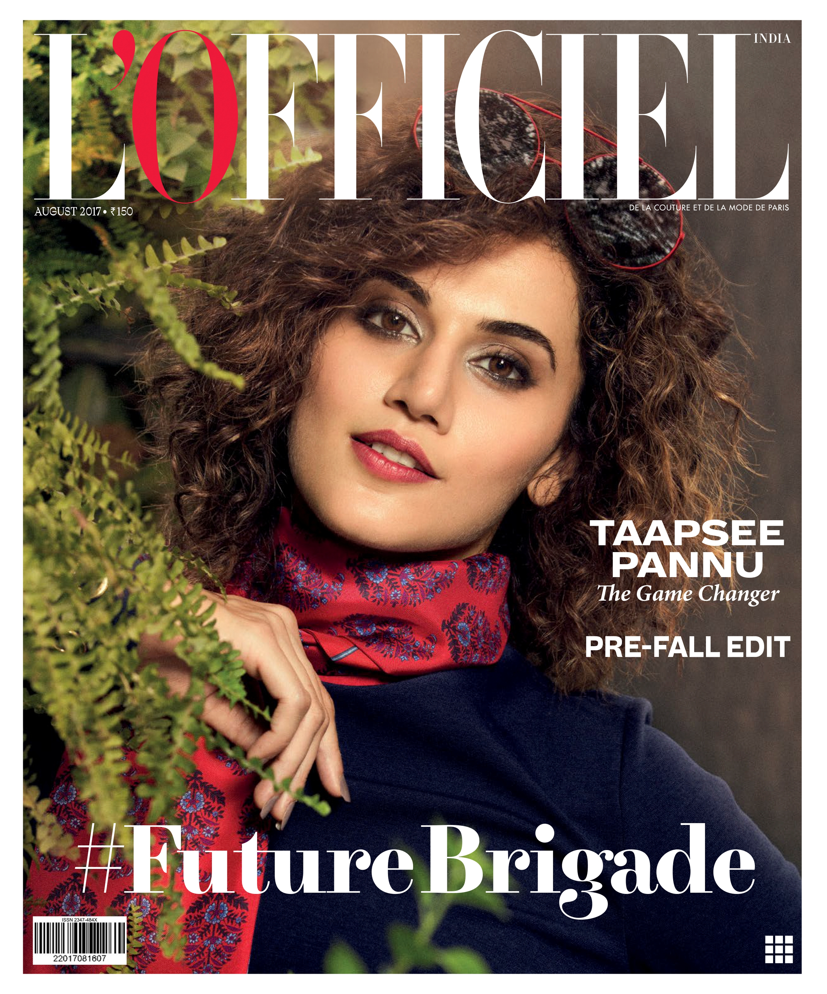 Taapsee Pannu, L'Officiel magazine's cover