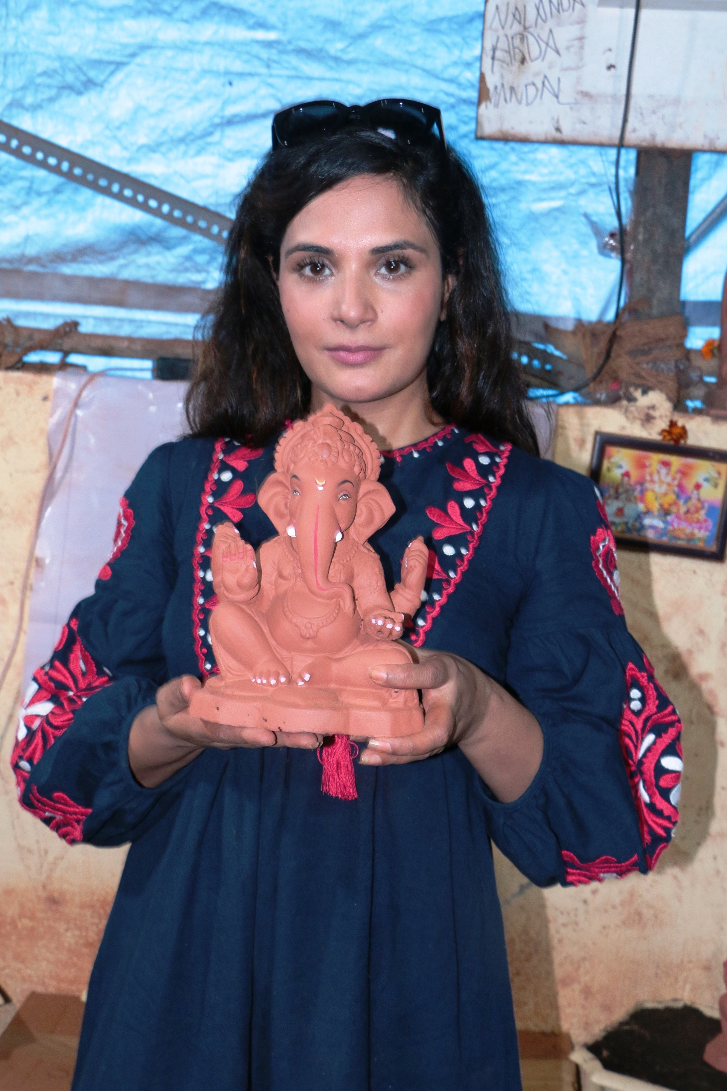 Richa Chadha, Eco friendly, Ganesha
