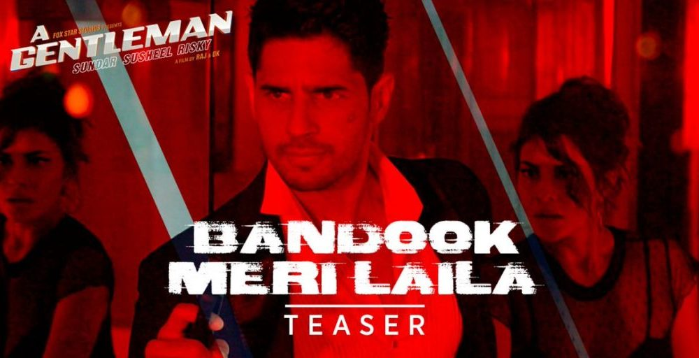 sexiest, action song, Bandook Meri Laila, Siddharth, Jacqueline