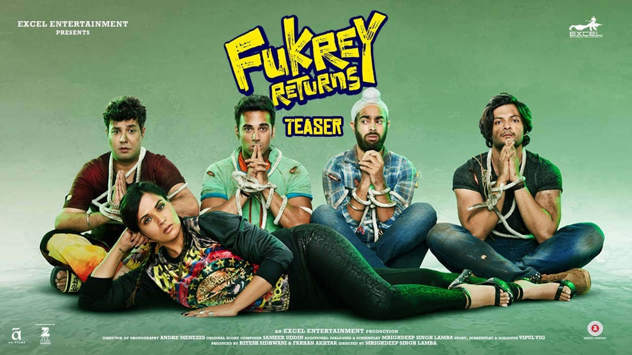 Richa chadha, Fukre returns