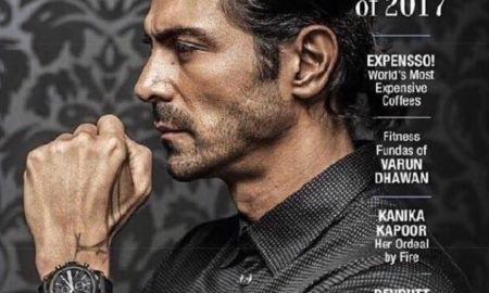Arjun Rampal, Graces, The Man Cover