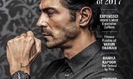 Arjun Rampal, Graces, The Man Cover