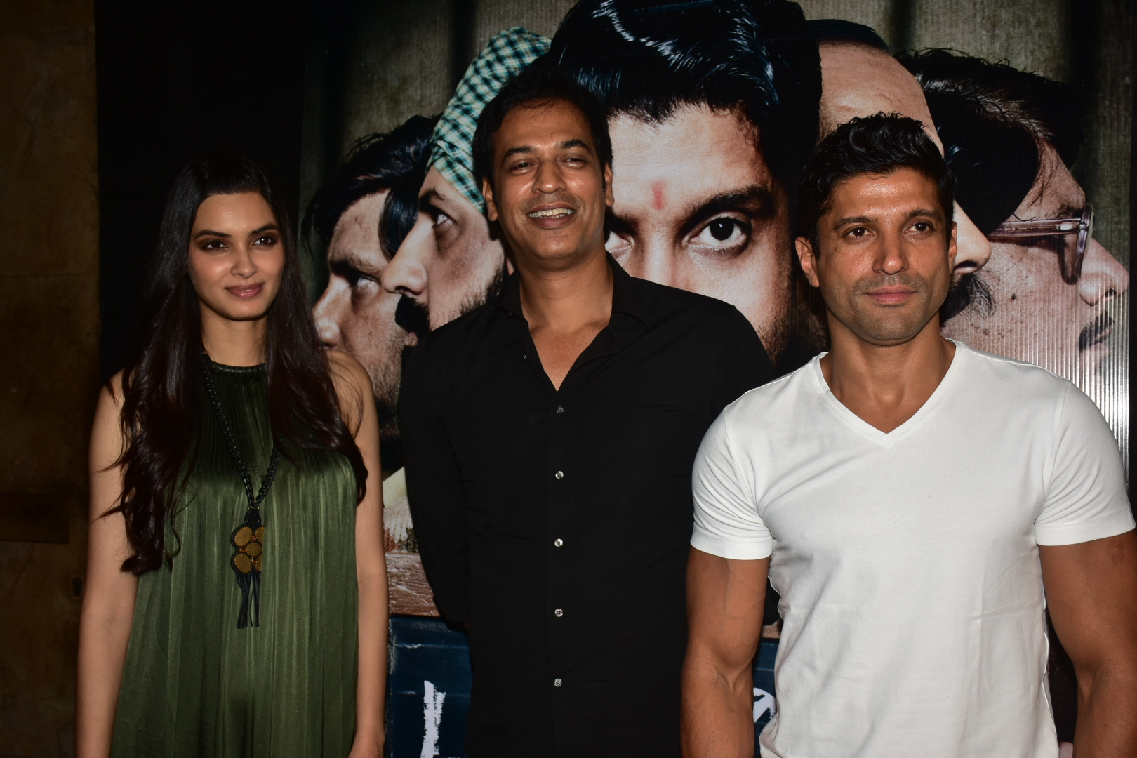 B-town,screening, Lucknow Central, Farhan Akhtar, Diana Penty,