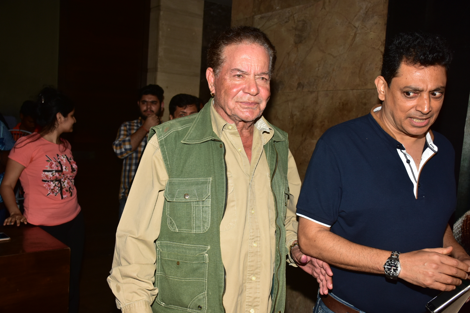 Salim Khan, Helen, Prem Chopra, special screening, Lucknow Central