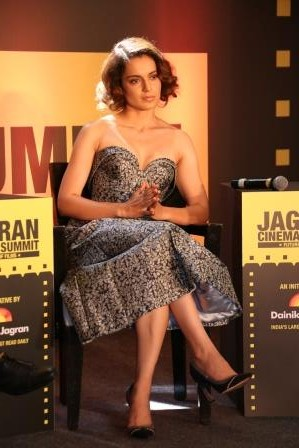 Kangana Ranaut at Jagran Cinema Summit 4