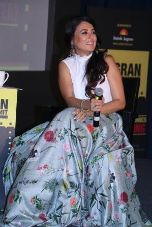 Mini Mathur at Jagran Cinema Summit
