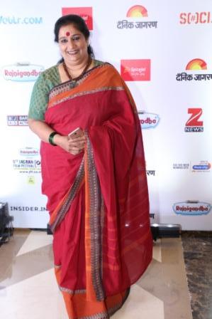 Seema Pahwa at the 8th Jagran Film Festival Award Night