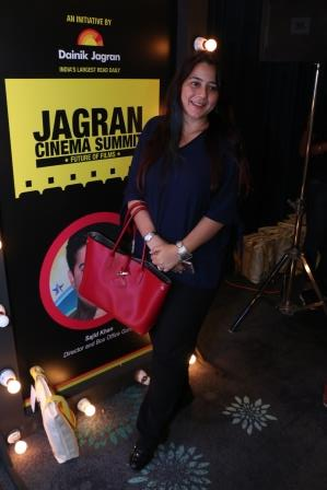 Shrishti behl at the Jagran Cinema Summit
