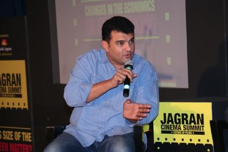 Siddharth Roy Kapur at the Jagran Cinema Summit