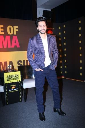 Varun Dhawan at Jagran Cinema Summit