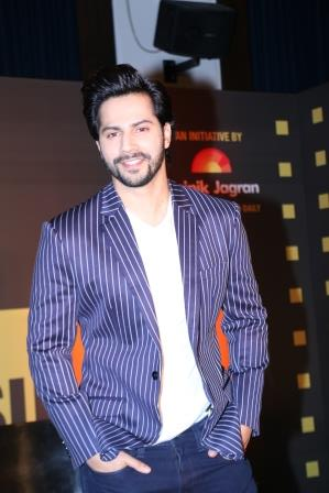 Varun Dhawan at the Jagran Cinema Summit