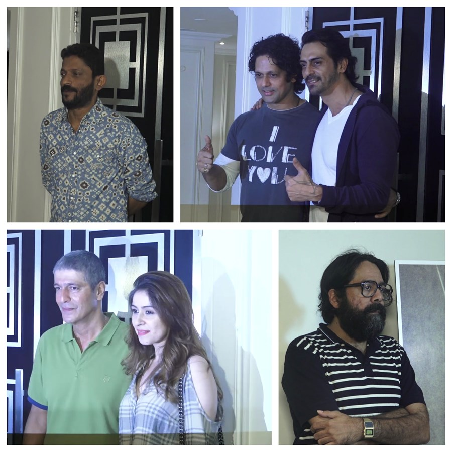 Bollywood, celebrities, special screening, Daddy