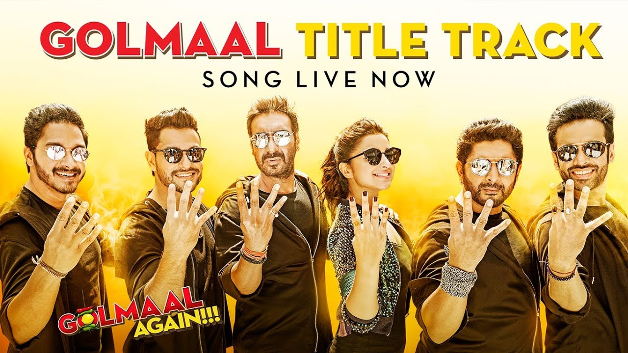Enjoy The Madness And Groove To The Golmaal Anthem Golmaal Again