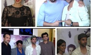 Bollywood celebrities, special screening, Newton