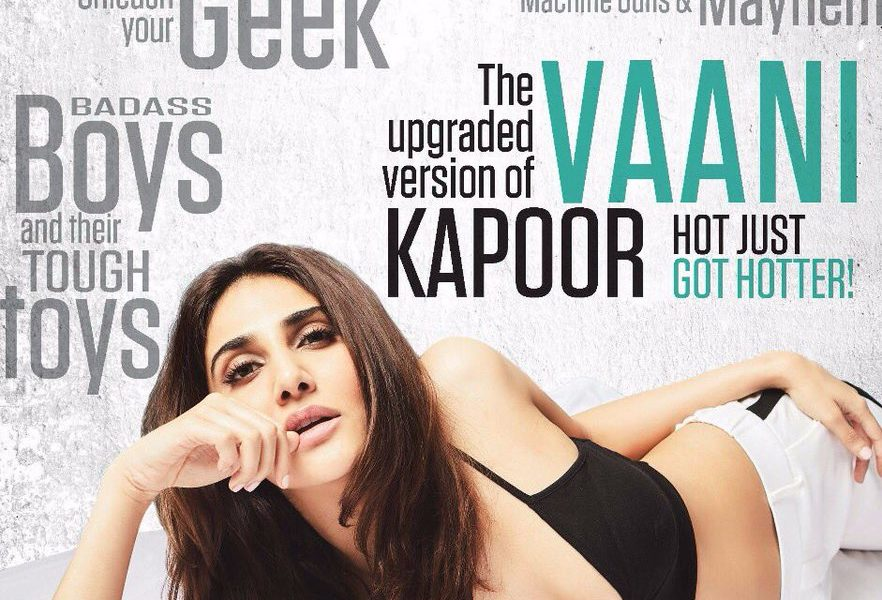 Vaani Kapoor, FHM Cover