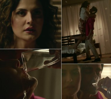 sexy side, Zareen Khan, Romantic Sensual Song, Aaj Zid