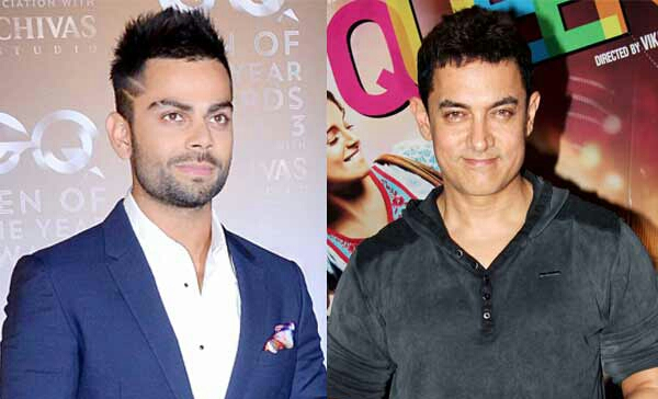 first time, Aamir Khan, Virat Kohli, candid conversation!