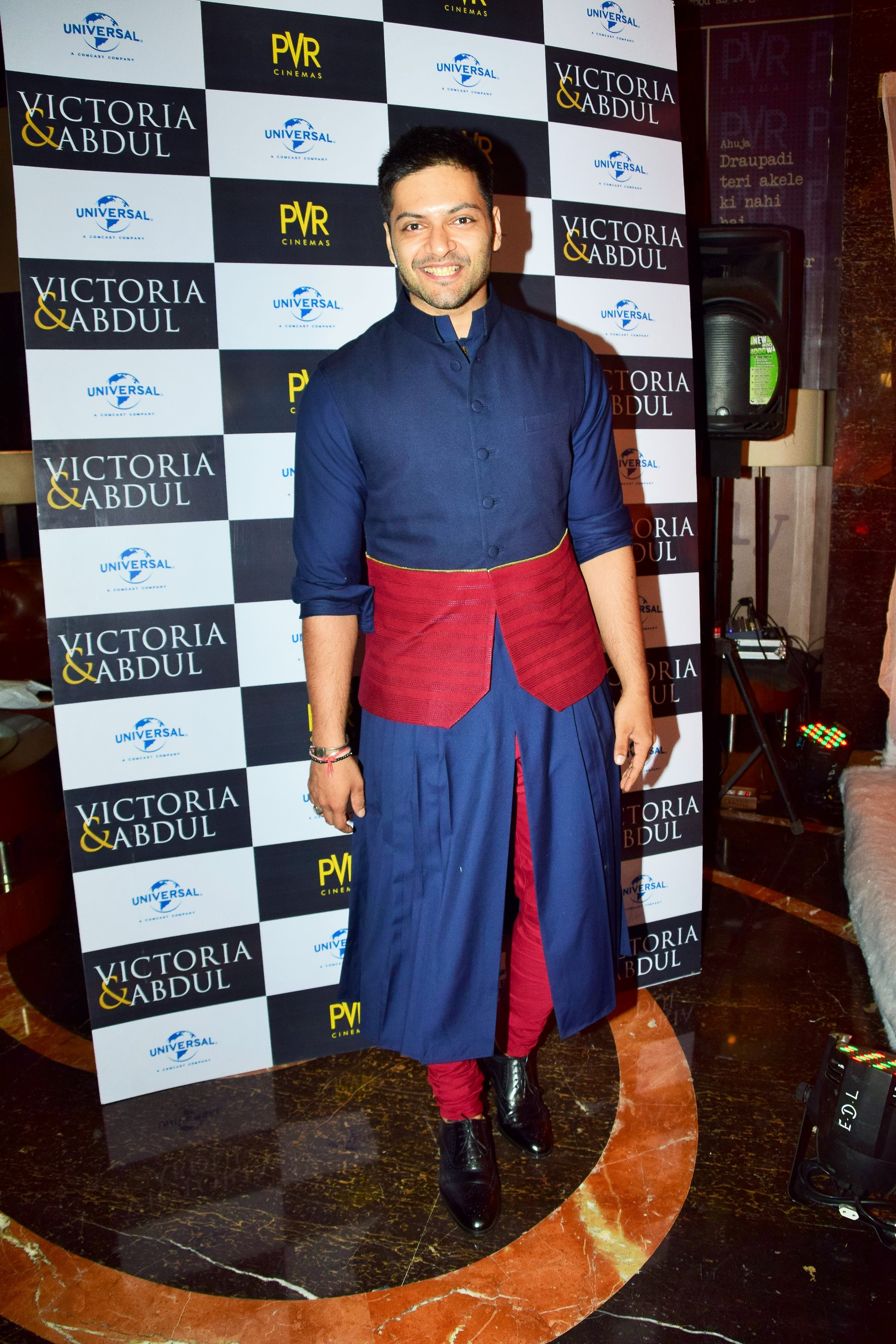 Ali Fazal at the premiere of his Hollywood film Victoria Abdul Film Release Date 13th Oct.