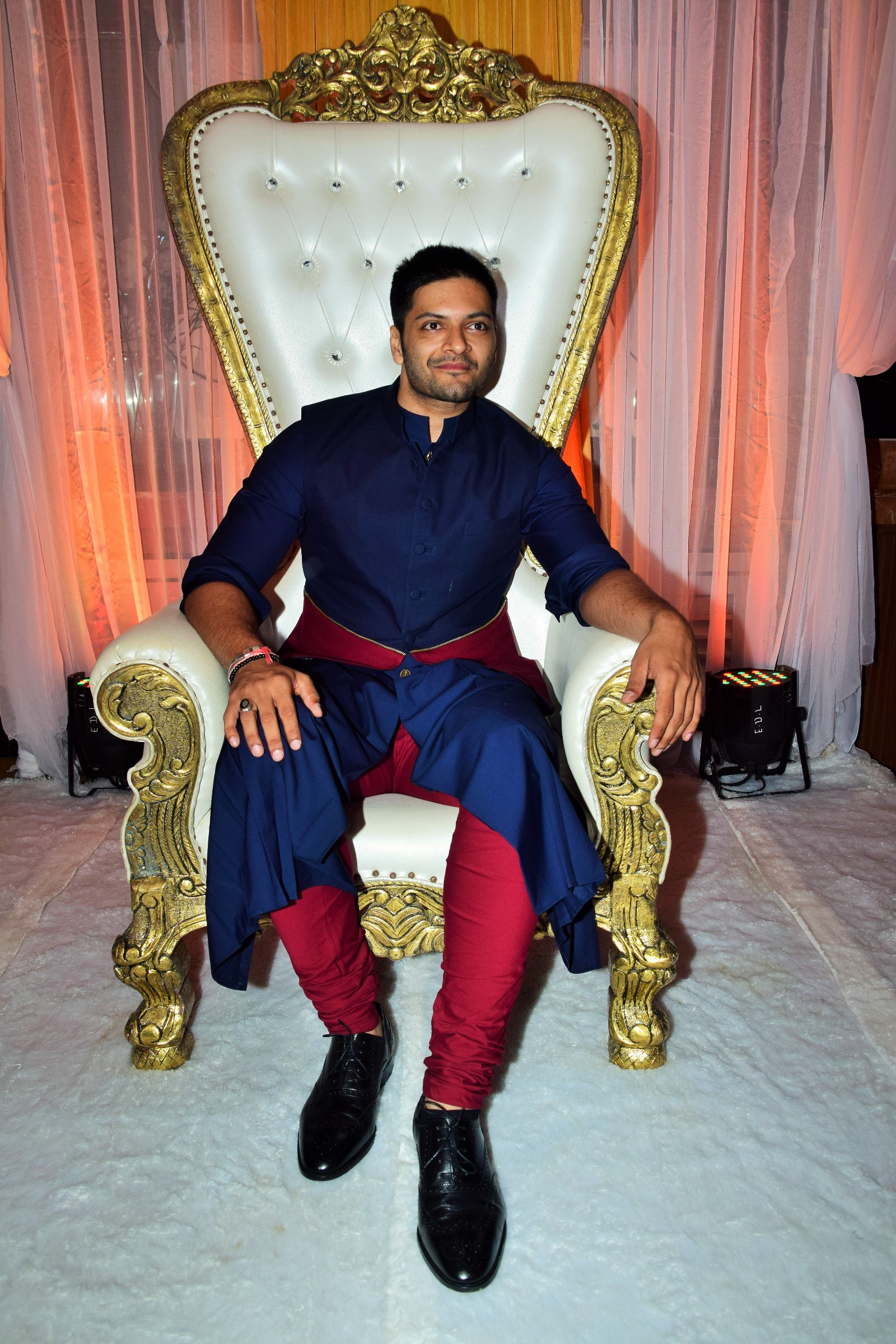 Bollywood actor Ali Fazal at the premiere of his Hollywood film Victoria Abdul Film Release Date 13th Oct.