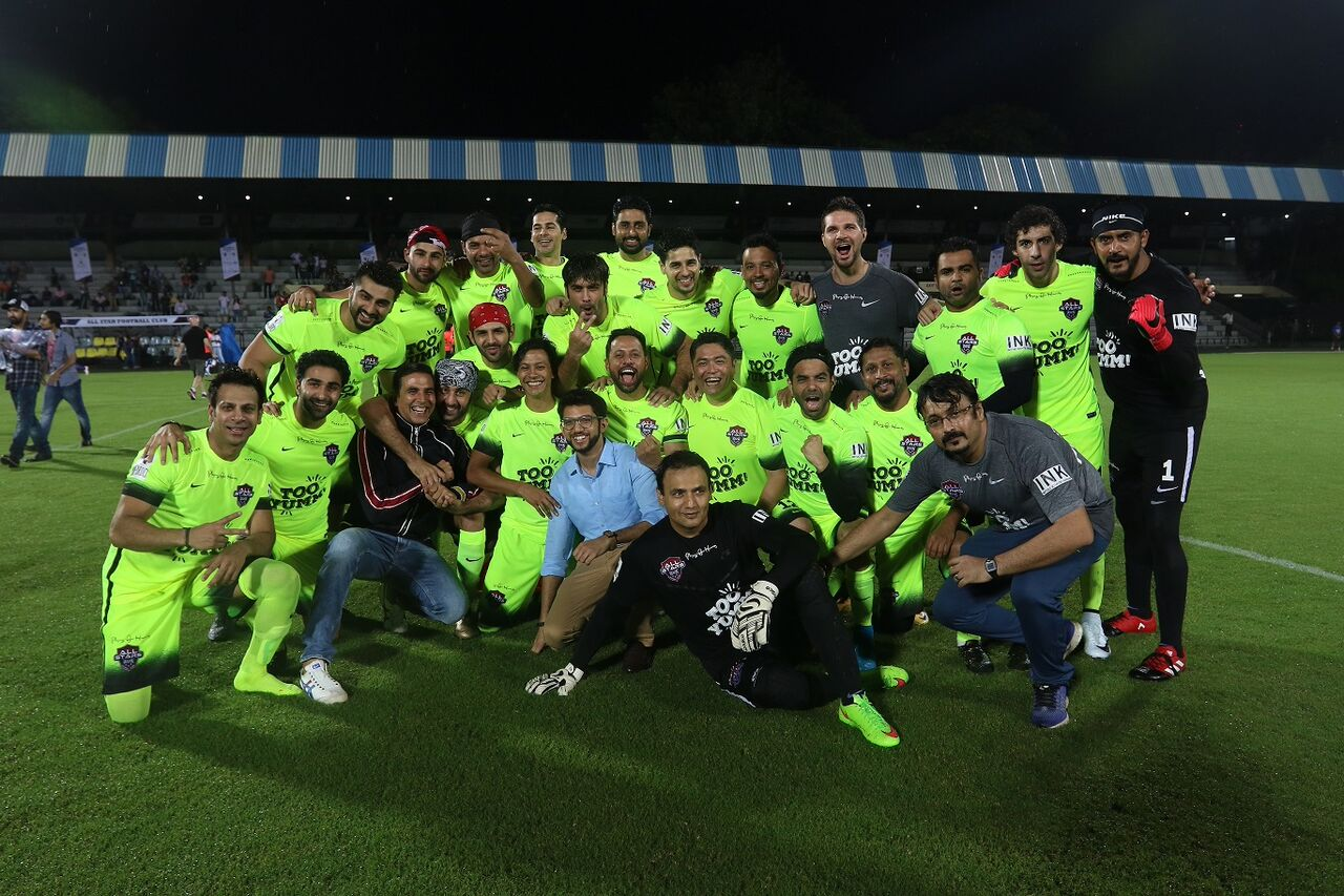 Sidharth Malhotra, Celebrity Clasico 2017, All star football Club