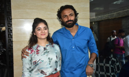 Zaira Wasim, celebrates, birthday,Secret Superstar, Director, Advait Chandan