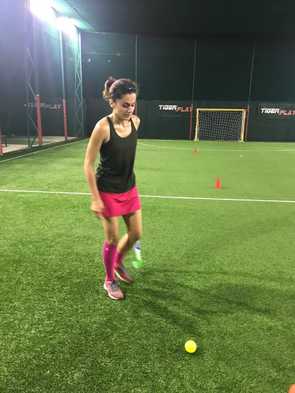 Taapsee Pannu, father, hockey player