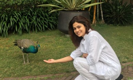 Shamita Shetty, Ananda, holiday