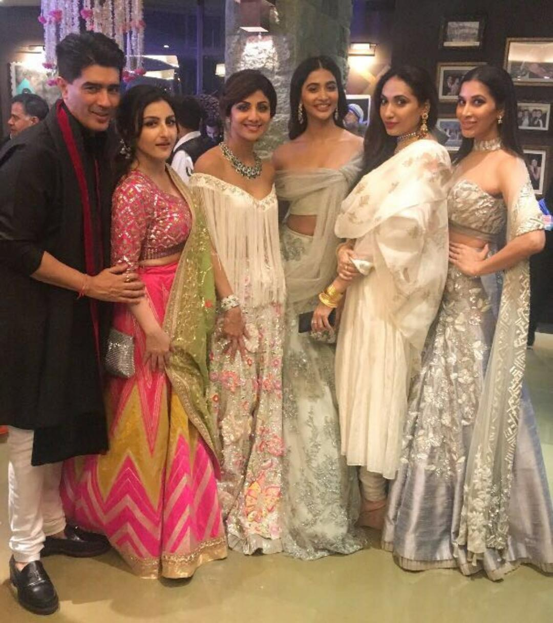 Prernaa Arora, producer, Shilpa Shetty, diwali party