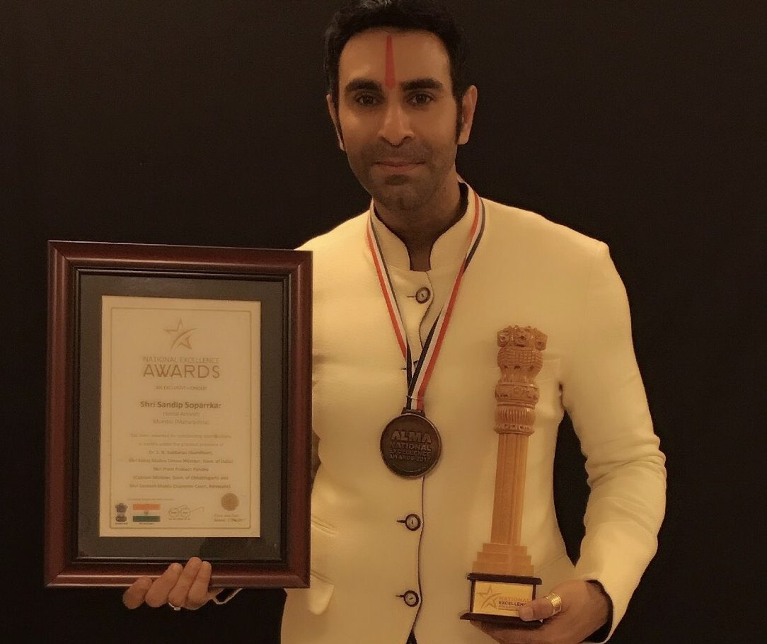 National Excellence Award, Sandip Soparrkar,Dance for a Cause