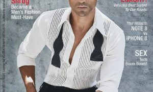 Farhan Akhtar, cover boy, Magazine